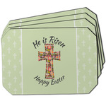 Easter Cross Dining Table Mat - Octagon