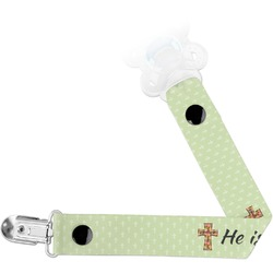 Easter Cross Pacifier Clips