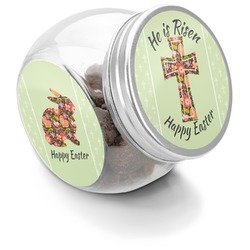 Easter Cross Puppy Treat Jar
