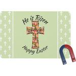 Easter Cross Rectangular Fridge Magnet