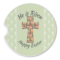 Easter Cross Sandstone Car Coasters