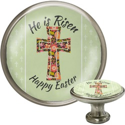 Easter Cross Cabinet Knob (Silver)