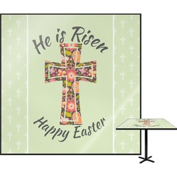 Easter Cross Square Table Top