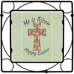 Easter Cross Square Trivet