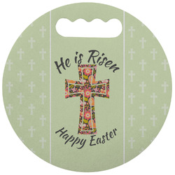 Easter Cross Stadium Cushion (Round)
