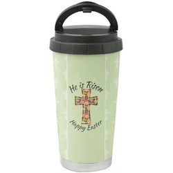 Easter Cross Stainless Steel Travel Mug