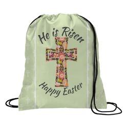 Easter Cross Drawstring Backpack
