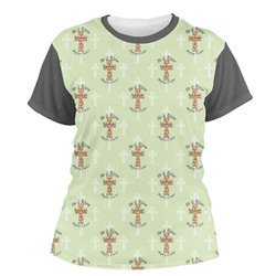 Easter Cross Women's Crew T-Shirt