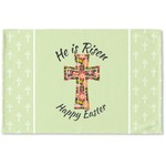Easter Cross Woven Mat