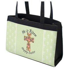 Easter Cross Zippered Everyday Tote
