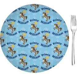 Custom Prince Glass Appetizer / Dessert Plates 8