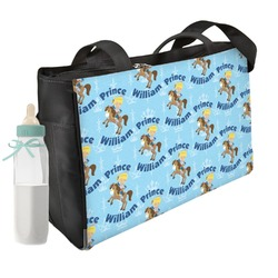Custom Prince Diaper Bag (Personalized)