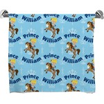 Custom Prince Full Print Bath Towel (Personalized)