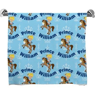 Custom Prince Full Print Bath Towel (Personalized)