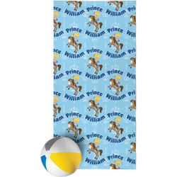 Custom Prince Beach Towel (Personalized)