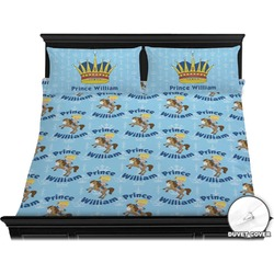 Custom Prince Duvet Cover Set - King (Personalized)