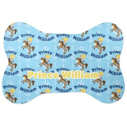 Custom Prince Bone Shaped Dog Food Mat (Personalized)