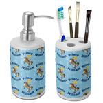 Custom Prince Bathroom Accessories Set (Ceramic) (Personalized)