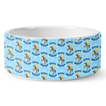 Custom Prince Ceramic Dog Bowl (Personalized)