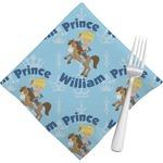 Custom Prince Napkins (Set of 4) (Personalized)