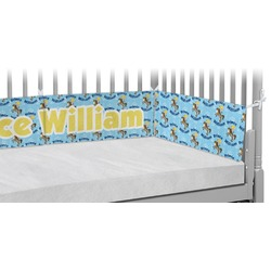 Custom Prince Crib Bumper Pads (Personalized)