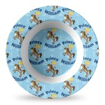 Custom Prince Plastic Bowl - Microwave Safe - Composite Polymer (Personalized)
