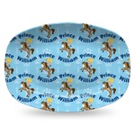 Custom Prince Plastic Platter - Microwave & Oven Safe Composite Polymer (Personalized)