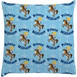 Custom Prince Decorative Pillow Case (Personalized)