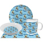 Custom Prince Dinner Set - 4 Pc (Personalized)
