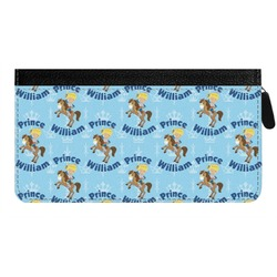 Custom Prince Genuine Leather Ladies Zippered Wallet (Personalized)