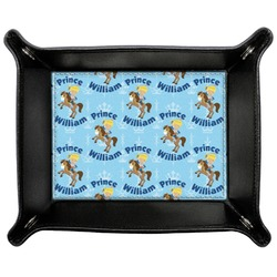 Custom Prince Genuine Leather Valet Tray (Personalized)