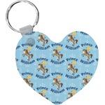 Custom Prince Heart Keychain (Personalized)