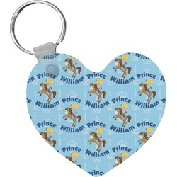 Custom Prince Heart Keychain (Personalized)