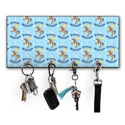 Custom Prince Key Hanger w/ 4 Hooks (Personalized)