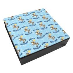 Custom Prince Leatherette Keepsake Box - 3 Sizes (Personalized)