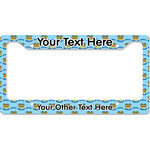 Custom Prince License Plate Frame (Personalized)