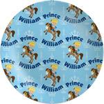 "Custom Prince Melamine Plate - 8"" (Personalized)"