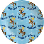Custom Prince Melamine Plate (Personalized)