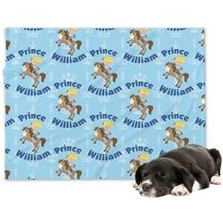 Custom Prince Minky Dog Blanket - Large  (Personalized)