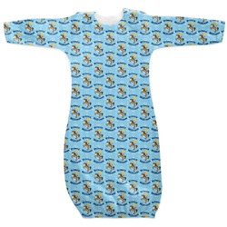 Custom Prince Newborn Gown (Personalized)