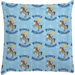 Custom Prince Euro Sham Pillow Case (Personalized)