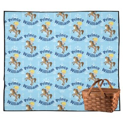 Custom Prince Outdoor Picnic Blanket (Personalized)