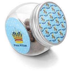 Custom Prince Puppy Treat Jar (Personalized)