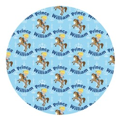 Custom Prince Round Decal - Custom Size (Personalized)