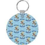 Custom Prince Round Keychain (Personalized)