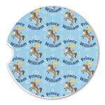 Custom Prince Sandstone Car Coasters (Personalized)