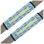 Custom Prince Seat Belt Covers (Set of 2) (Personalized)