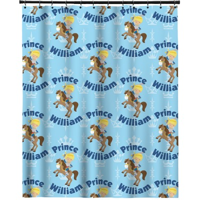 """Custom Prince Extra Long Shower Curtain - 70""""x84"""" (Personalized)"""