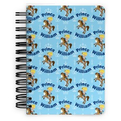 Custom Prince Spiral Bound Notebook - 5x7 (Personalized)