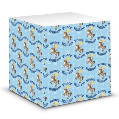 Custom Prince Sticky Note Cube (Personalized)